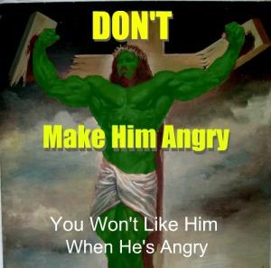 Muscle Jesus Hulk Cropped